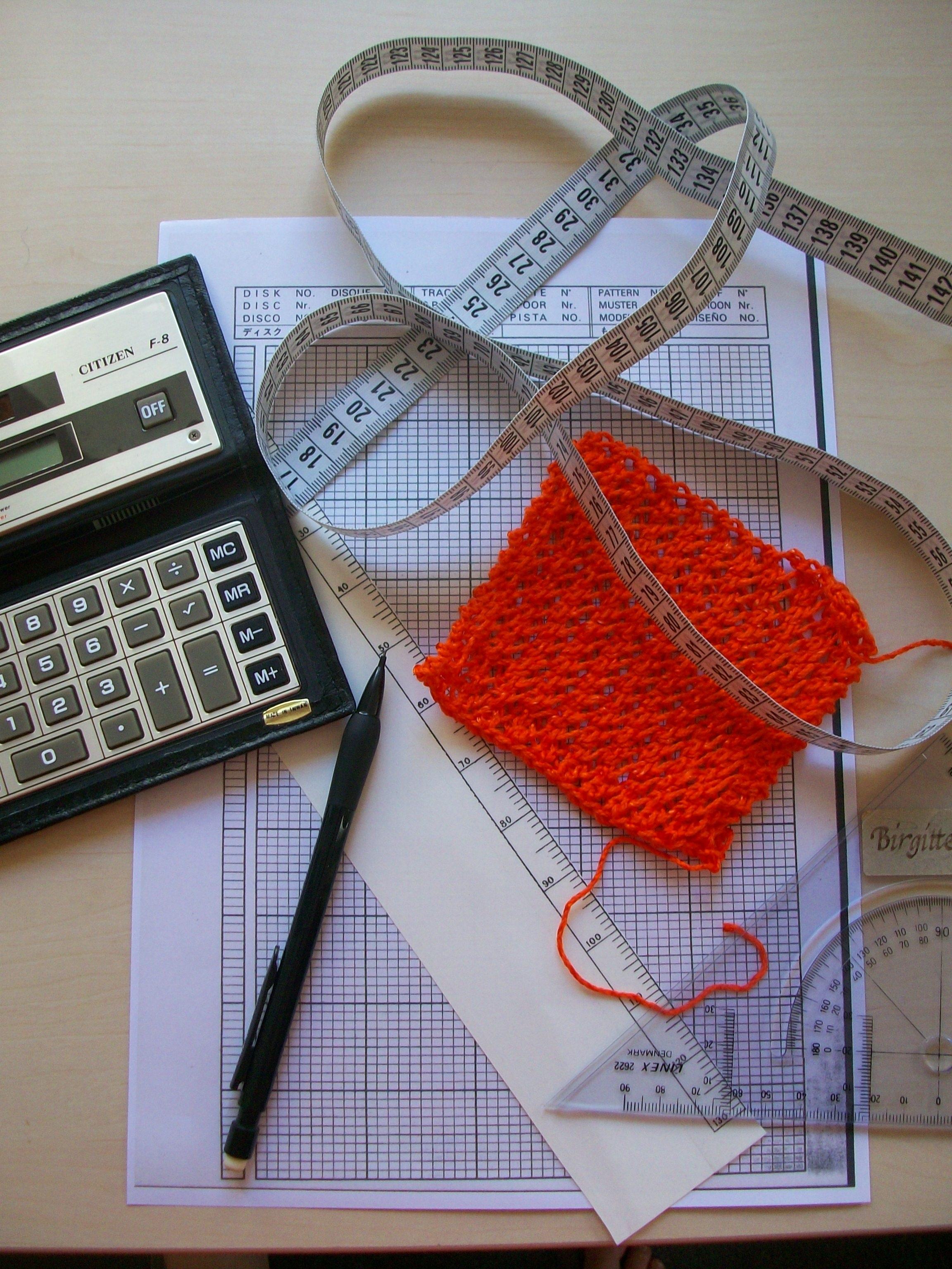 Design dit eget grundmønster i strik